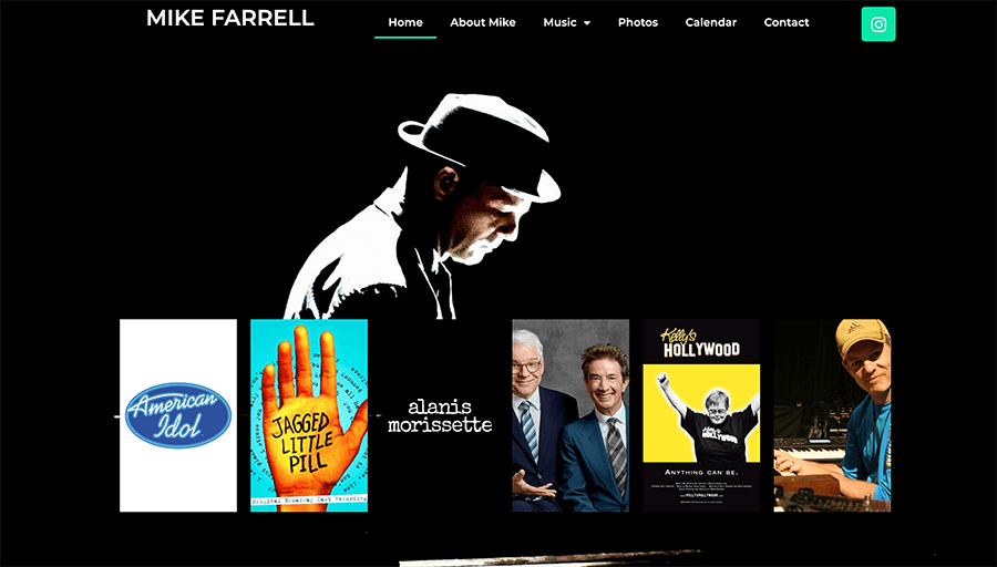 Mike Farrell Homepage